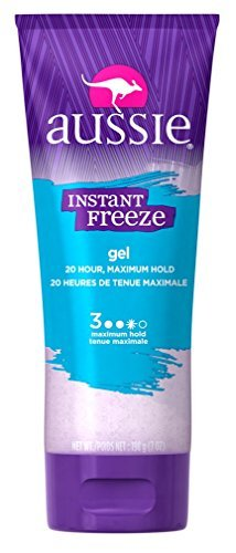 Aussie Gel Instant Freeze Sculpting 7oz Max Hold