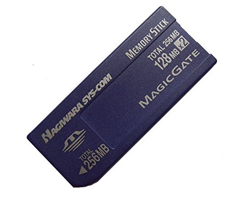 256mb 128mb x 2 Memory Stick NON-PRO Made in Japan For Older Camera (Pro 128 Mb Memory)