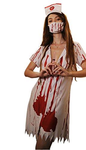 Befox Zombie Nurse Halloween Costume Women/Fancy Dress/Nurse