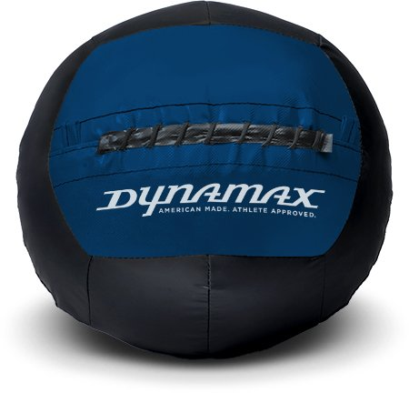 Dynamax 20lb Soft-Shell Medicine Ball Black/Blue