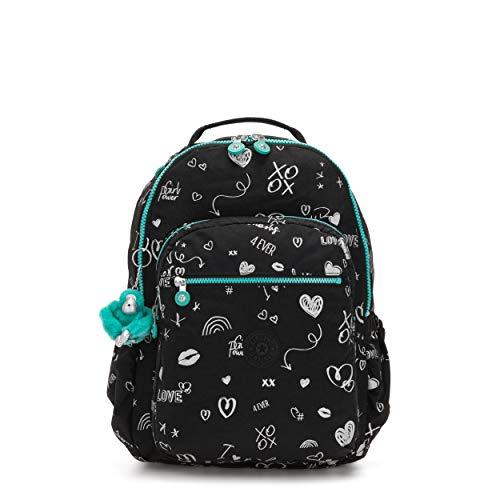 kipling SEOUL GO Large Backpack Girl Doodle ()