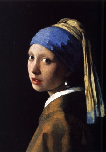 Counted Cross Stitch Patterns: The Girl With The Pearl Earring by Johannes Vermeer (Great Artists Series)