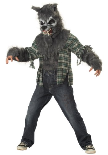 [California Costumes boys Big Boys' Werewolf Costume X-Small (4-6)] (Wolf Halloween Costume Child)