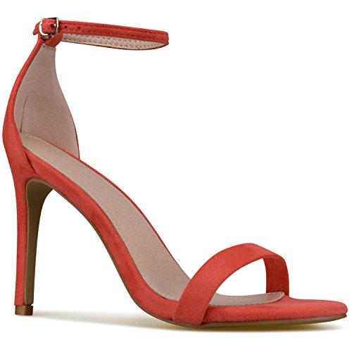 Dress Classy D'Orsay Ankle Strap Standard Pump Su Coral Women's Premier wxqnTpPYT