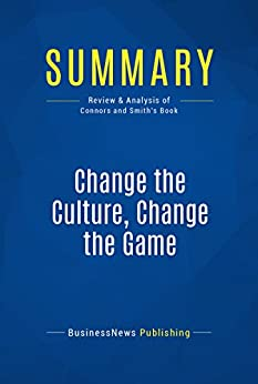 Change the culture change the game book review