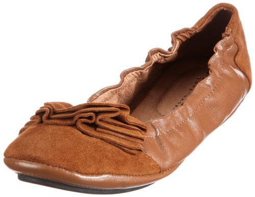 Lise 171 Lindvig Damen DOT Braun 112 Brown Ballerinas fTfrw