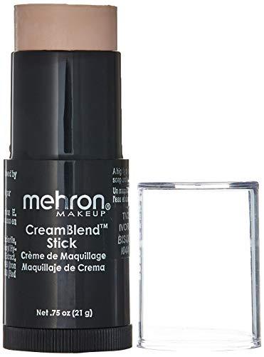 Mehron Makeup CreamBlend Stick, Ivory Bisque - .75oz
