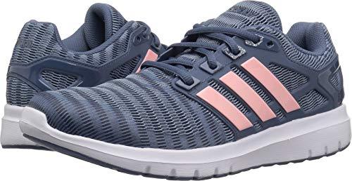 adidas Women's Energy Cloud V Running Shoe, raw Grey/Clear Orange/tech Ink, 5 M US
