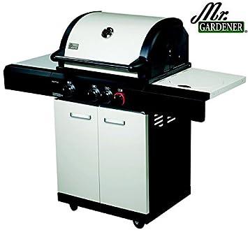 Exceptionnel Mr. Gardener Gas Barbecue Seattle Turbo Zone Side Burner
