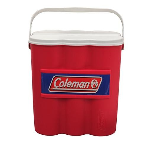 Coleman Company 12 Can Carry Chiller with Ice Substitute Cooler, Red (12 Pack Can Dispenser compare prices)