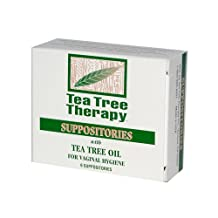 Tea Tree Therapy Suppositories With Tea Tree Oil For Vaginal Hygiene 6 PK