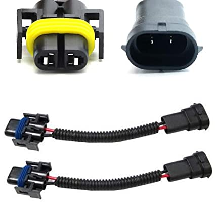 Amazon.com: iJDMTOY (2) H11 H8 H9 Extension Wiring Harness Sockets