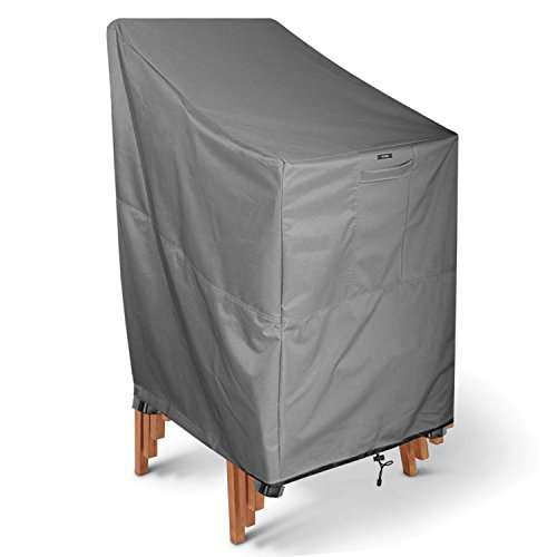 KHOMO GEAR TITAN Series Stackable Chair Cover Heavy Duty Premium Outdoo