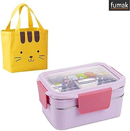Sandwich Lunch Box Portable Bento Food Storage Cartoon Container RE