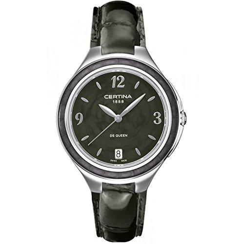 Certina C018.210.16.057.00 - Women's Wristwatch , Leather, color: Black