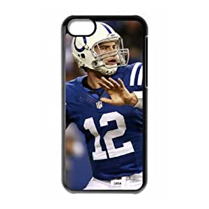 Indianapolis Colts iPhone 5c Cell Phone Case Black SVD_620492