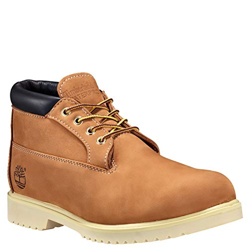 Timberland Men's Premium WP Chukka Newman Boot, Wheat, 10 M US