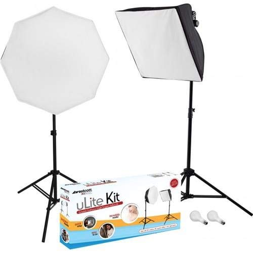 (Photo Basics 404 uLite 2-Light Kit (Renewed))