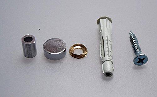 SC1587 | M4 DIN1587 V2A hohe Ausf/ührung SC-Normteile // NIRO 10 St/ück Hutmuttern rostfreier Edelstahl A2