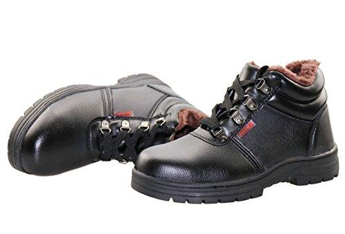 Ailu Scarpe Da Lavoro Uomo S3 Scarpe Da Lavoro Impermeabili Scarpe Antinfortunistiche Scarpe Da Lavoro Foderate Nere