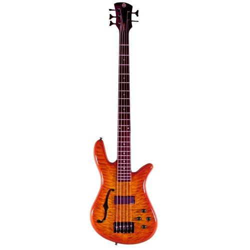 Spector SpectorCore5 Bass Guitar (5 String, Amberburst) (Euro Bass Spector)