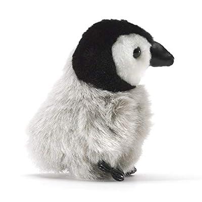 Folkmanis Mini Emperor Penguin Baby Finger Puppet: Toys & Games