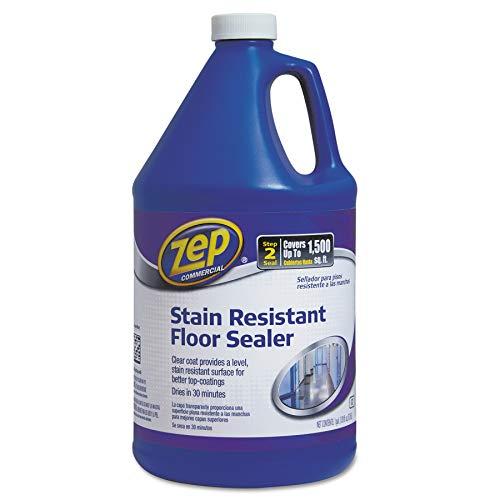 Zep Commercial 1044994 Stain Resistant Floor Sealer, 1 gal Bottle