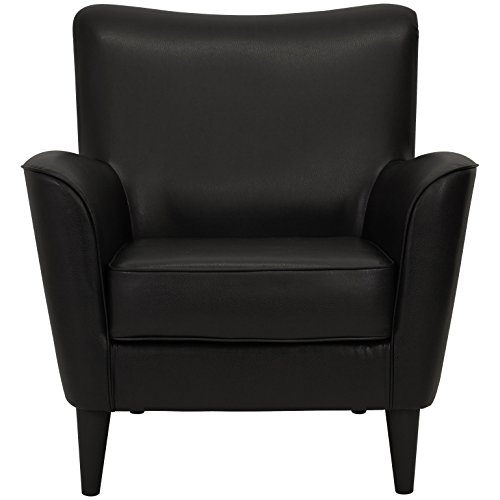 (Parker Lane uch-rex-fdc Lounge Chair Leatherette Black)