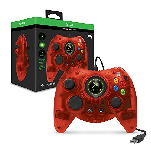 Hyperkin Duke Wired Controller For Xbox One/ Windows 10 PC (Red Limited Edition) – Officially Licensed by Xbox One)