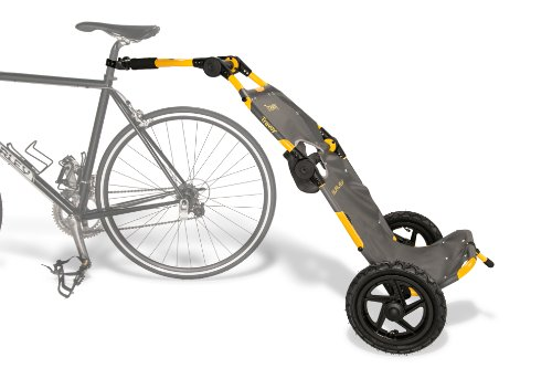 Best of Burley Design Travoy Bike Trailer, Yellow