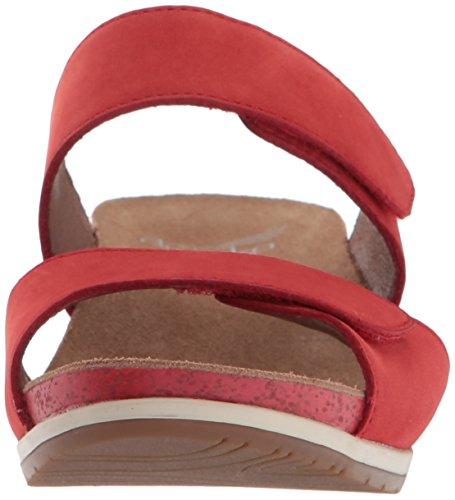 Dansko Damen Wien Slide Sandale Tomato Milled Nubuk