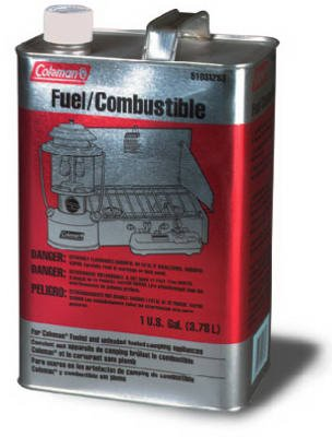 Coleman Camp Fuel Aka White Gas, Naptha Metal Gal by Coleman