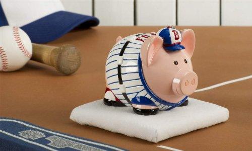 Giftcraft Inhognito Baseball Grand Slam Ham Polystone Piggy Money Coin Bank