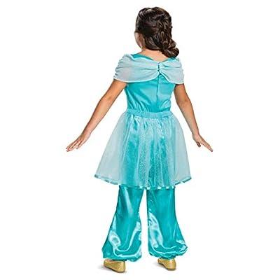 Disney Princess Jasmine Classic Girls' Costume, Teal: Toys & Games