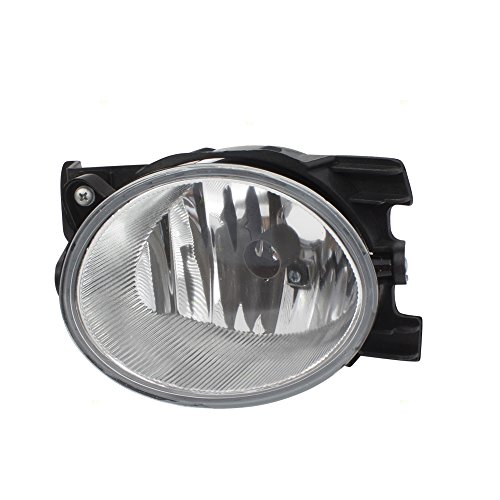 Passengers Fog Light Lamp Lens Unit Replacement for 09-11 Honda Pilot 33901SZA305