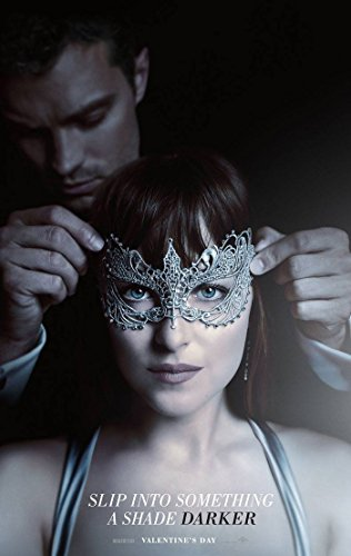 Fifty Shades Darker Movie Poster 2 Sided Original Advance Dakota Johnson