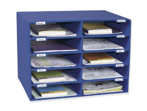 Pacon Classroom Keepers 10-Slot Mailbox