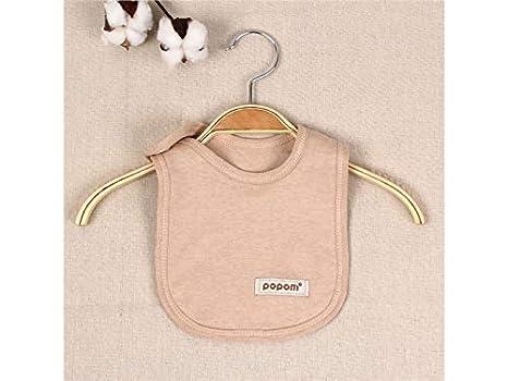 Toalla babero babero babero impermeable para bebés y niños niñas toalla bebé saliva (marrón) Baberos infantiles: Amazon.es: Bebé