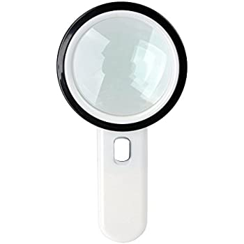 Amazon Com 10x Handheld Reading Loupe Magnifier With 10
