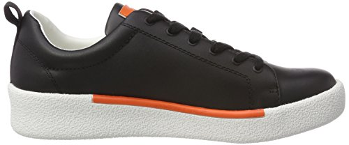 Sneaker Gerald blk 000 Uomo Nero Calvin Klein Nappa xZ4wtqtHB
