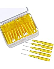 Honorall 60pcs Toothpick Interdental Brushes Tooth Flossing Head Oral Dental Hygiene Brush Optional Sizes