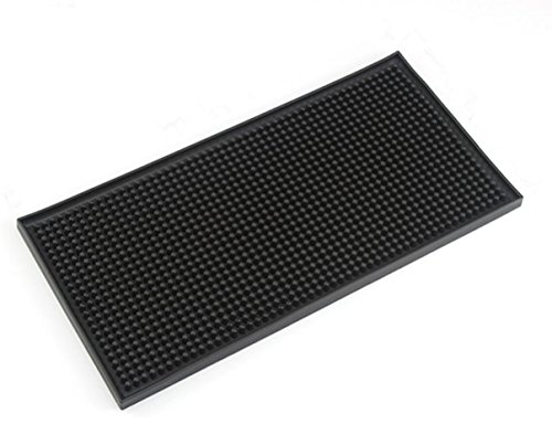 Rubber Bar Service Mat Dish Drying Mat 6''x12'' by Morava
