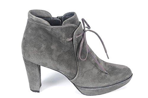 Stuart Weitzman ladies ankle boots Tycoon Grey cwbca