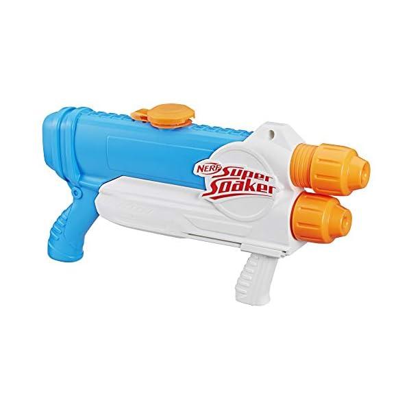 Hasbro Nerf Supersoaker- Nerf Super Soaker-Barracuda Giocattolo Blaster Spruzza Acqua, Multicolore, E2770 1 spesavip