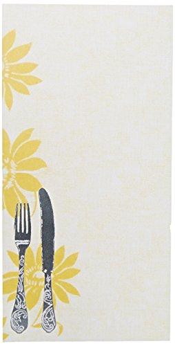 George Stanley Silverware Tea Length Imprintable Invitation, 10-Count