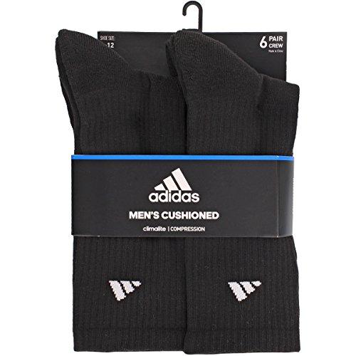 adidas Men's Athletic Crew Socks (6 Pack)