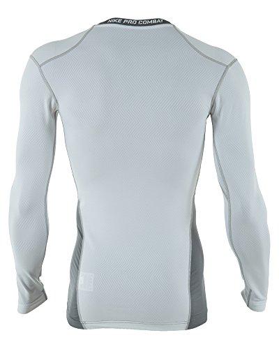 69035afd Nike Pro Combat Hyperwarm Lite Compression Crew Long Sleeve Shirt ...