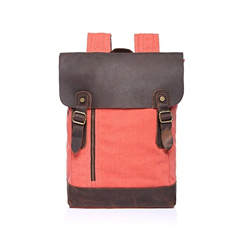 sechunk-canvas-genuine-leather-backpack-red