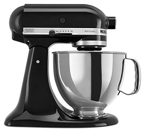 KitchenAid RRK150OB  5 Qt. Artisan Series - Onyx Black (Renewed) ()