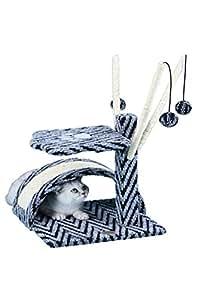 Amazon.com : Go Pet Club Small Cat Tree Grey Tam Color